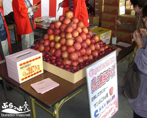 スポット情報:くだものいっぱい まつかわ ふじ祭り 長野県|南